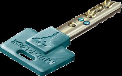 clé de serrure hautement sécurisée