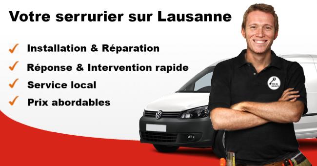 serrurier Lausanne - services