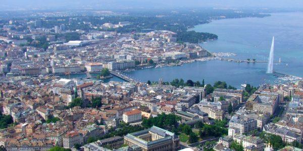Genève vue de haut