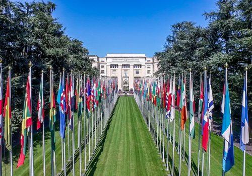 Palais des Nations Genève
