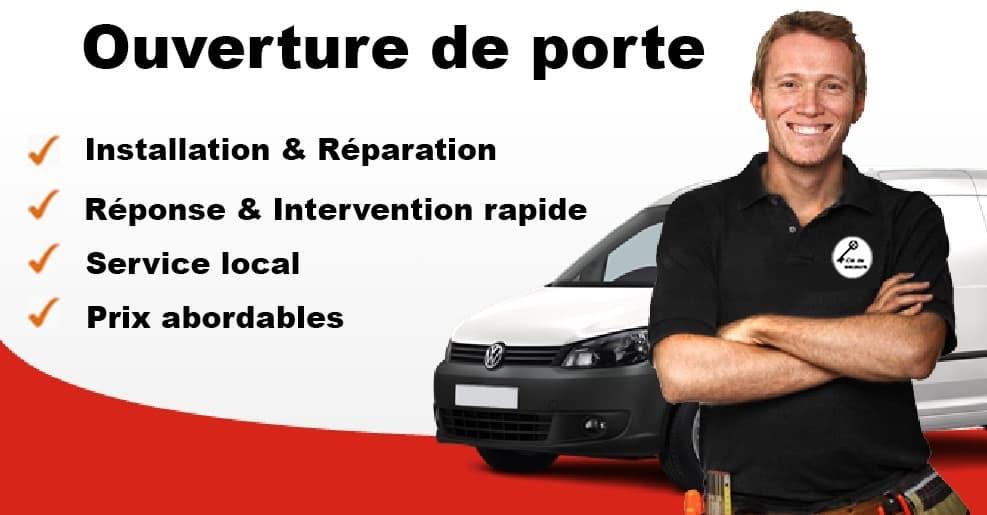 Service de serrurerie d'urgence - porte Lausanne